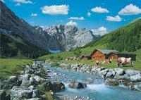Ravensburger puzzle La montagne des Karwendel, Autriche