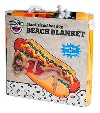 BigMouth serviette Hot Dog Beach Blanket Lg 94 x L 216 cm-Côté droit