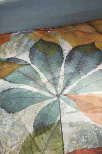 Beddinghouse Dekbedovertrek Leafage multi katoensatijn 200 x 220 cm-Artikeldetail