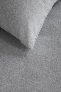 Beddinghouse Dekbedovertrek Frost flanel light grey 140 x 220 cm-Artikeldetail
