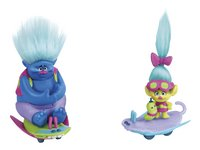 Trolls set de jeu 2 figurines avec skate-boards-Avant