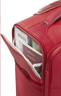 Samsonite Valise souple Uplite EXP Spinner red 55 cm-Image 2