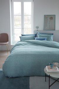 Beddinghouse Dekbedovertrek Frost flanel blue 240 x 220 cm-commercieel beeld