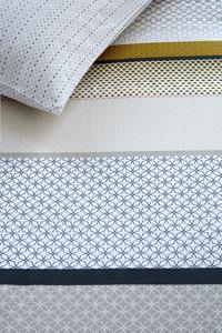 Beddinghouse Housse de couette Liva coton yellow 200 x 220 cm-Détail de l'article