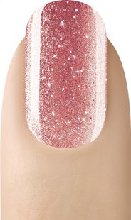 SensatioNail Gel Polish Rose Gold Glitter-Image 1