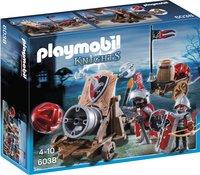 Playmobil Knights 6038 Chevaliers de l'Aigle avec canon géant