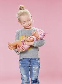 BABY born poupée interactive Soft touch Fille rose 43 cm-Image 8