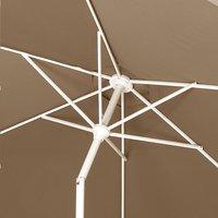 Aluminium parasol diameter 3 m taupe-Artikeldetail