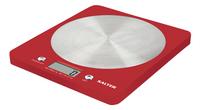 Salter digitale keukenweegschaal SA1046 rood