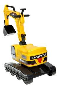 Falk loopwagentje Power Shift Excavator-Achteraanzicht