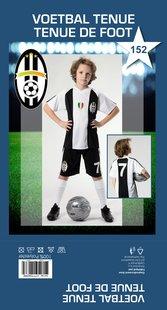 Voetbaloutfit Juventus replica maat 152-Vooraanzicht