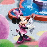 Ravensburger 3-in-1 puzzel Minnie in het park-Vooraanzicht