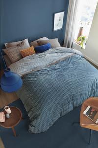 Beddinghouse Dekbedovertrek Diamante blue katoen 200 x 220 cm-commercieel beeld