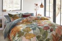 Beddinghouse Housse de couette Leafage multi satin de coton 240 x 220 cm-commercieel beeld