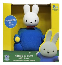 Peluche interactive Miffy & car NL