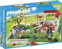 Playmobil SuperSet 6147 Paddock avec chevaux