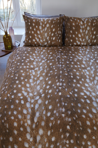 Beddinghouse Housse de couette Cervinae brown coton 260 x 220 cm-Image 2