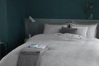 Beddinghouse Dekbedovertrek Frost flanel light grey 140 x 220 cm-Afbeelding 2