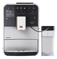 Melitta Volautomatische espressomachine met melkopschuimer Barista Smart T F830-101 zilver/zwart-Vooraanzicht