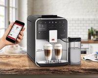 Melitta Volautomatische espressomachine met melkopschuimer Barista Smart T F830-101 zilver/zwart-Afbeelding 6