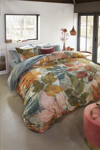 Beddinghouse Housse de couette Leafage multi satin de coton 240 x 220 cm-Image 3