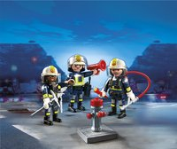 Playmobil City Action 5366 Trio brandweermannen-Afbeelding 1