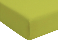 Romanette Drap-housse lime jersey double 180 x 200 cm-commercieel beeld