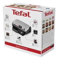 Tefal Multigrill SuperGrill XL Timer GC461B12-Rechterzijde