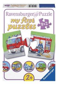 Ravensburger 9 puzzles Les Véhicules
