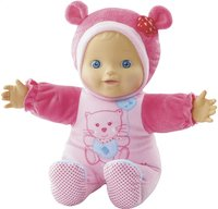 VTech interactieve pop Little Love Kiekeboe baby roze NL