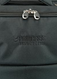 Princess Traveller zachte reistrolley Palermo S zwart 51 cm-Artikeldetail