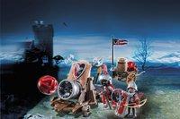 Playmobil Knights 6038 Groot kanon van de Valkenridders-Afbeelding 1