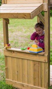 BnB Wood schommel Nieuwpoort Shop met  appelgroene glijbaan-Artikeldetail