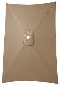 Parasol en aluminium 2 x 3 m taupe-Détail de l'article
