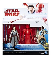 Actiefiguur Disney Star Wars Force Link duopack Rey & Elite Praetorian Guard-Vooraanzicht