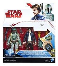 Actiefiguur Disney Star Wars Force Link duopack Han Solo & Boba Fett-Vooraanzicht