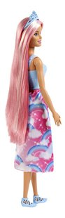 Barbie mannequinpop Dreamtopia Prinses met lang roze haar-Achteraanzicht