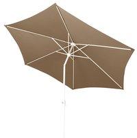 Parasol en aluminium diamètre 3 m taupe-Détail de l'article