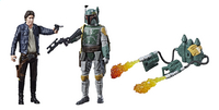 Actiefiguur Disney Star Wars Force Link duopack Han Solo & Boba Fett-commercieel beeld