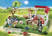 Playmobil SuperSet 6147 Paddock avec chevaux-Image 1
