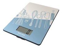 Salter digitale keukenweegschaal SA1102 Kitchen blauw-Artikeldetail