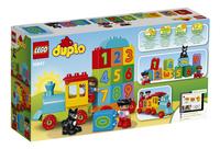LEGO DUPLO 10847 Getallentrein-Achteraanzicht
