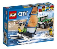 LEGO City 60149 4x4 met catamaran
