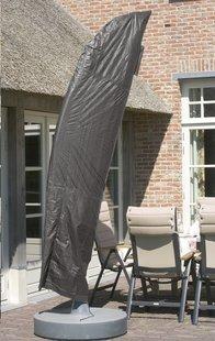 Housse de protection en polyéthylène pour parasol suspendu 3,5 m