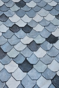 At Home Dekbedovertrek Vieuw blue katoen 140 x 220 cm-Artikeldetail