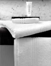 De Witte Lietaer Serviette Othello blanc Lg 50 x L 100 cm - 3 pièces-Image 2