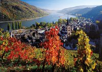 Ravensburger puzzel Wijnbouw langs de Rijn