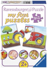 Ravensburger puzzle 2 en 1 My First À la ferme