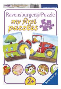 Ravensburger puzzel 2-in-1 My First Op de boerderij