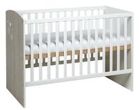 Sauthon Lit de bébé Ana L 120 x Lg 60 cm-Avant